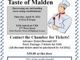 Taste of Malden is April19