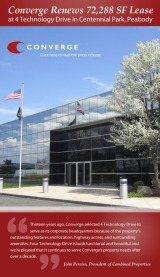 Converge Renews 72,288 SF in Peabody