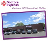 Doctors Express Coming to Centre Plaza in Malden