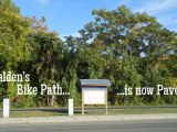Malden's Bike Path isPaved