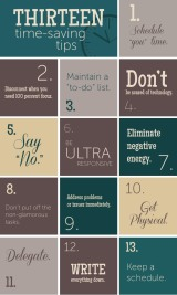 13 Time Saving Tips
