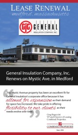 General Insulation Renews on Mystic Ave.
