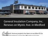 General Insulation Renews on MysticAve.